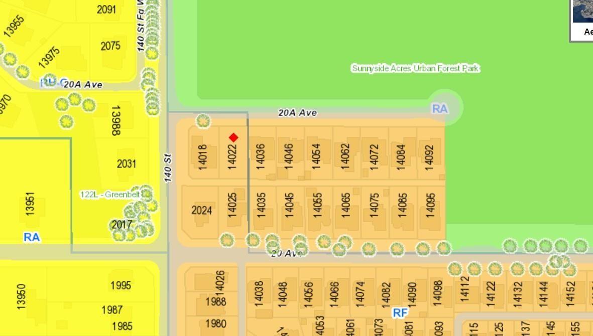 Main Photo: 14022 20A Avenue in Surrey: Sunnyside Park Surrey Land for sale (South Surrey White Rock)  : MLS®# R2624112