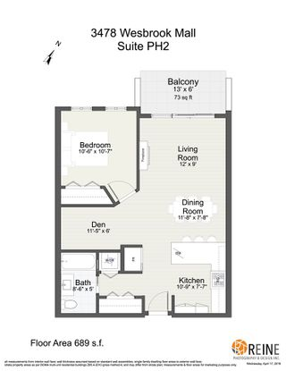 """Photo 20: PH2 3478 WESBROOK Mall in Vancouver: University VW Condo for sale in """"Spirit"""" (Vancouver West)  : MLS®# R2360430"""