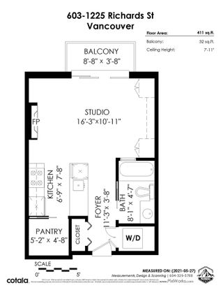 """Photo 19: 603 1225 RICHARDS Street in Vancouver: Downtown VW Condo for sale in """"Eden"""" (Vancouver West)  : MLS®# R2586394"""
