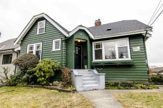 Photo 1: 1422 HAMILTON Street in New Westminster: West End NW House for sale : MLS®# R2347834