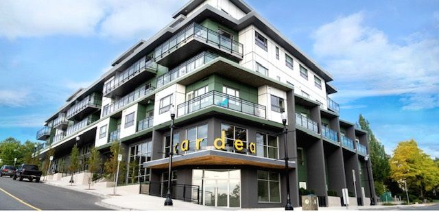 Main Photo: 406-238 Franklyn Street in Nanaimo: Condo for rent