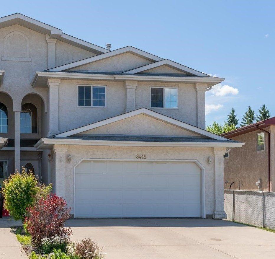 Main Photo: 8415 156 Ave NW in Edmonton: Zone 28 House Half Duplex for sale : MLS®# E4248433