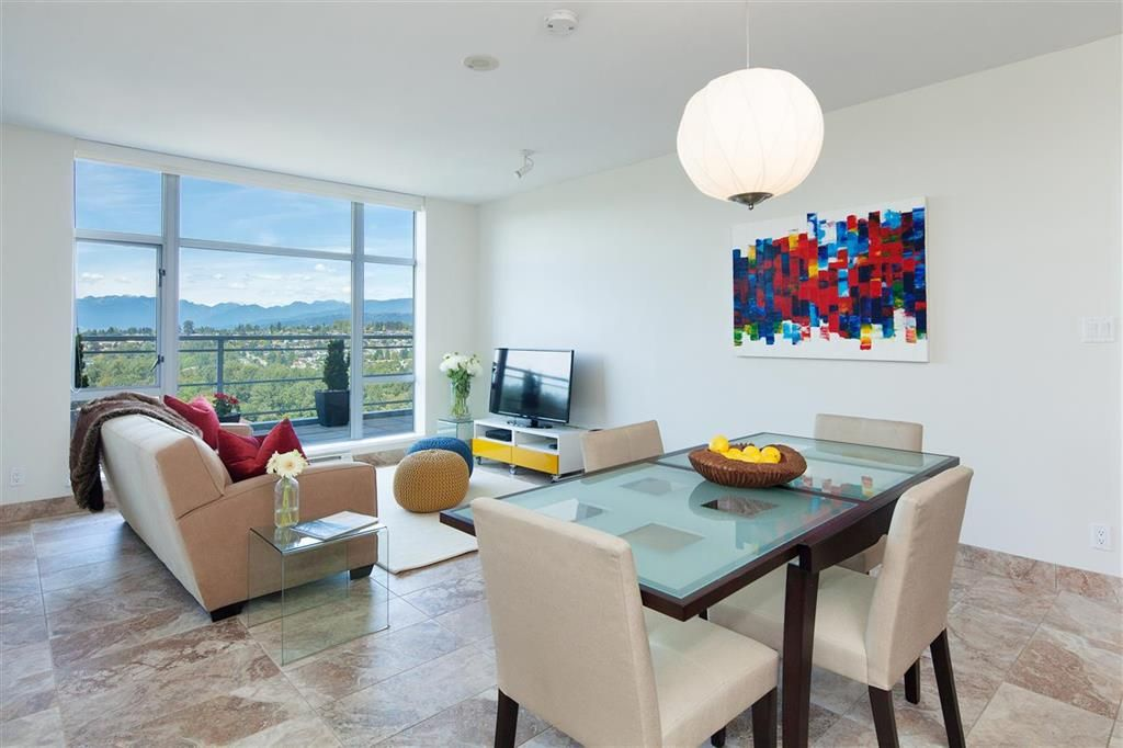 Main Photo: 2306 280 ROSS Drive in New Westminster: Fraserview NW Condo for sale : MLS®# R2101139