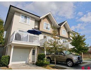 """Photo 1: 9 20560 66TH Avenue in Langley: Willoughby Heights Townhouse for sale in """"Amberleigh"""" : MLS®# F2724914"""