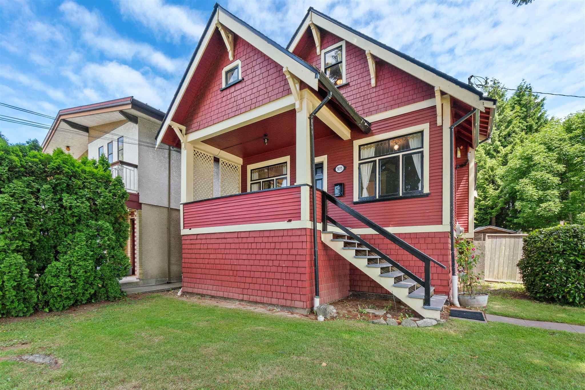 Main Photo: 3035 EUCLID AVENUE in Vancouver: Collingwood VE House for sale (Vancouver East)  : MLS®# R2595276