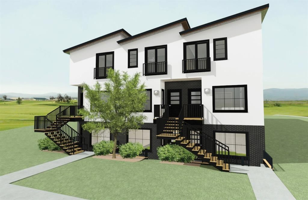 Main Photo: B 2419 37 Street SW in Calgary: Glendale Row/Townhouse for sale : MLS®# A1149869