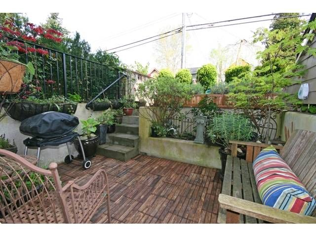 """Photo 10: Photos: 3538 W 5TH Avenue in Vancouver: Kitsilano Townhouse for sale in """"BOEUR HOUSE"""" (Vancouver West)  : MLS®# V822581"""