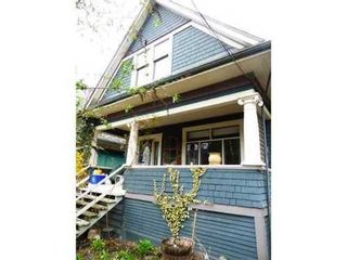 Photo 1: 2344 PRINCE ALBERT Street: Mount Pleasant VE Home for sale ()  : MLS®# V1053621