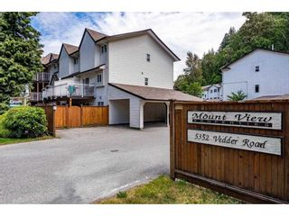 Photo 1: 10 5352 VEDDER Road in Chilliwack: Vedder S Watson-Promontory Townhouse for sale (Sardis)  : MLS®# R2589162