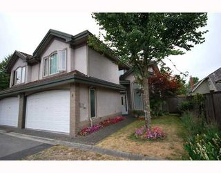 Photo 1: 4 8693 NO 3 Road in Richmond: Broadmoor Townhouse for sale : MLS®# V780928