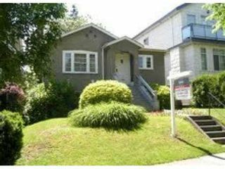 Main Photo: 3706 W 17 Avenue in Vancouver: Dunbar House for sale (Vancouver West)  : MLS®# V1011238