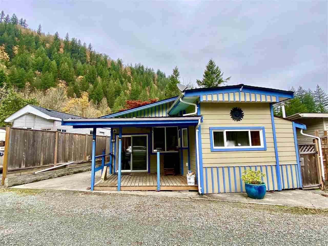 """Main Photo: 35 1650 COLUMBIA VALLEY Road: Columbia Valley Land for sale in """"LEISURE VALLEY"""" (Cultus Lake)  : MLS®# R2513453"""