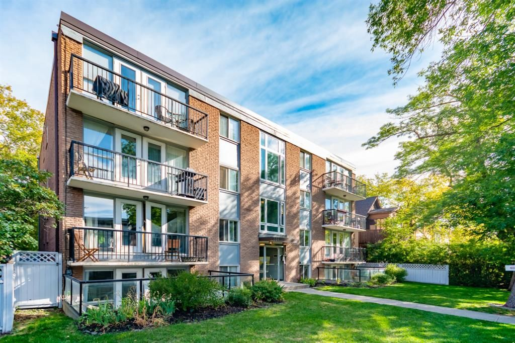 Main Photo: 102 324 22 Avenue SW in Calgary: Mission Apartment for sale : MLS®# A1136076
