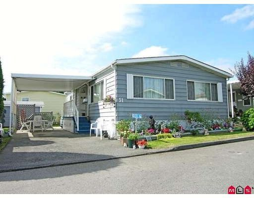 """Main Photo: 51 8254 134TH Street in Surrey: Queen Mary Park Surrey Manufactured Home for sale in """"WESTWOOD ESTATES"""" : MLS®# F2828467"""