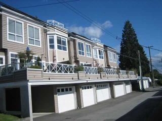 """Photo 10: 4 257 E 6TH Street in North Vancouver: Lower Lonsdale Townhouse for sale in """"LE MIRAGE"""" : MLS®# V791587"""