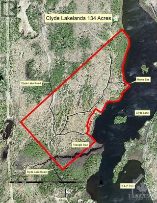 Photo 30: 2600 CLYDE LAKE ROAD in Lanark: Vacant Land for sale : MLS®# 1253879