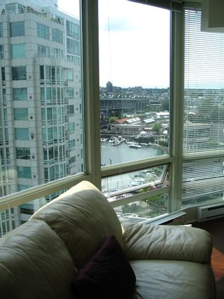 """Photo 15: 1408 1500 HORNBY Street in Vancouver: False Creek North Condo for sale in """"888 BEACH"""" (Vancouver West)  : MLS®# V720670"""