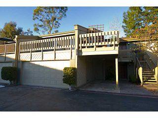 Photo 1: LA JOLLA Townhouse for sale : 2 bedrooms : 8364 VIA SONOMA #C