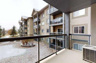 Photo 1: 215 279 SUDER GREENS Drive in Edmonton: Zone 58 Condo for sale : MLS®# E4219586