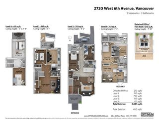 Photo 20: 2720 W 6TH AVENUE in Vancouver: Kitsilano House for sale (Vancouver West)  : MLS®# R2366450