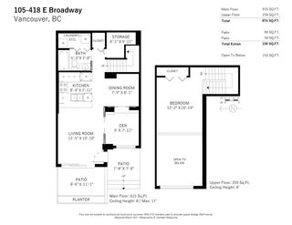 Photo 17: 105 418 E BROADWAY in Vancouver: Mount Pleasant VE Condo for sale (Vancouver East)  : MLS®# R2551158