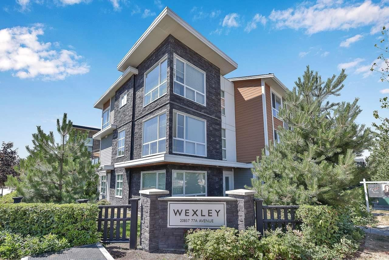 """Main Photo: 15 20857 77A Avenue in Langley: Willoughby Heights Townhouse for sale in """"WEXLEY"""" : MLS®# R2603738"""