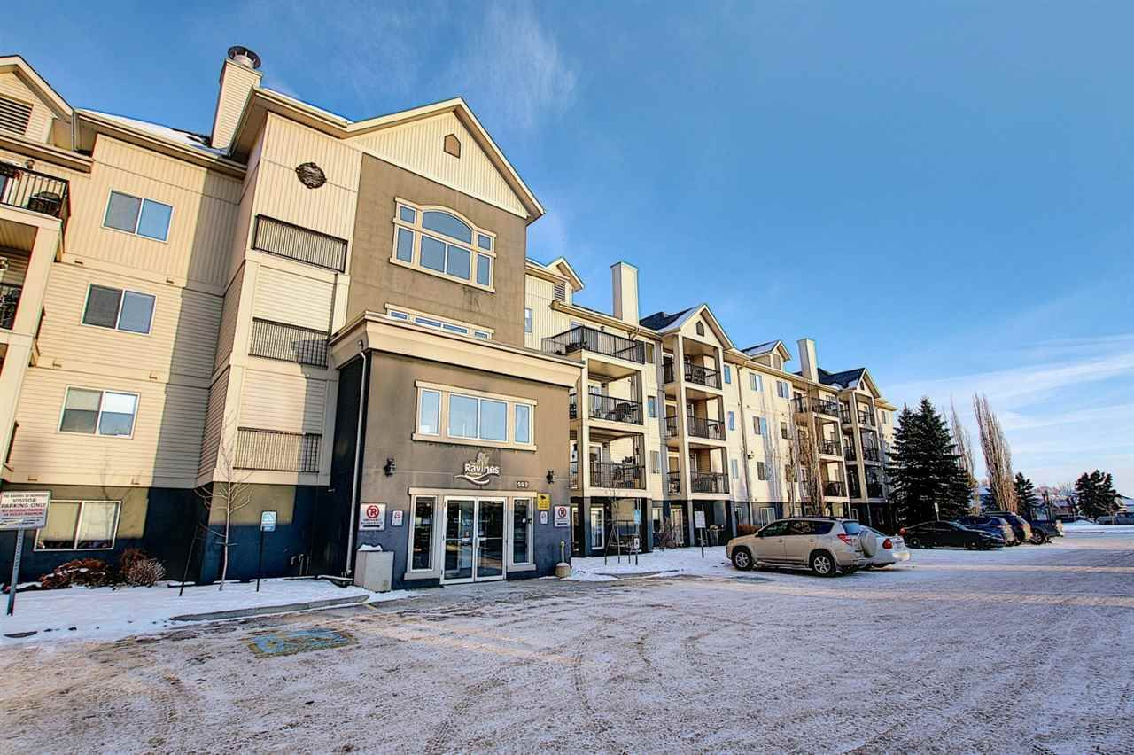 Main Photo: 110 592 HOOKE Road in Edmonton: Zone 35 Condo for sale : MLS®# E4229981
