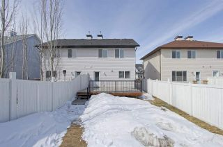 Photo 15: Terwillegar Town in Edmonton: Zone 14 House Half Duplex for sale : MLS®# E4104465