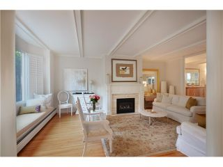 """Photo 3: 1449 MCRAE AV in Vancouver: Shaughnessy Townhouse for sale in """"McRae Mews"""" (Vancouver West)  : MLS®# V1010642"""