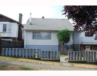 Photo 1: 3582 TANNER Street in Vancouver: Collingwood VE House for sale (Vancouver East)  : MLS®# V783818