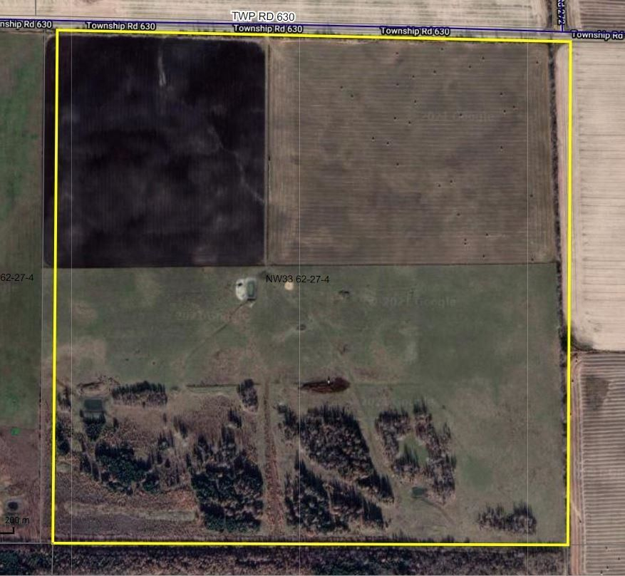 Main Photo: NW33-62-27-w4: Rural Westlock County Rural Land/Vacant Lot for sale : MLS®# E4258604