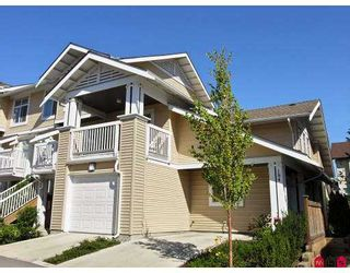 "Photo 1: 20033 70TH Ave in Langley: Willoughby Heights Townhouse for sale in ""DENIM"" : MLS®# F2620032"