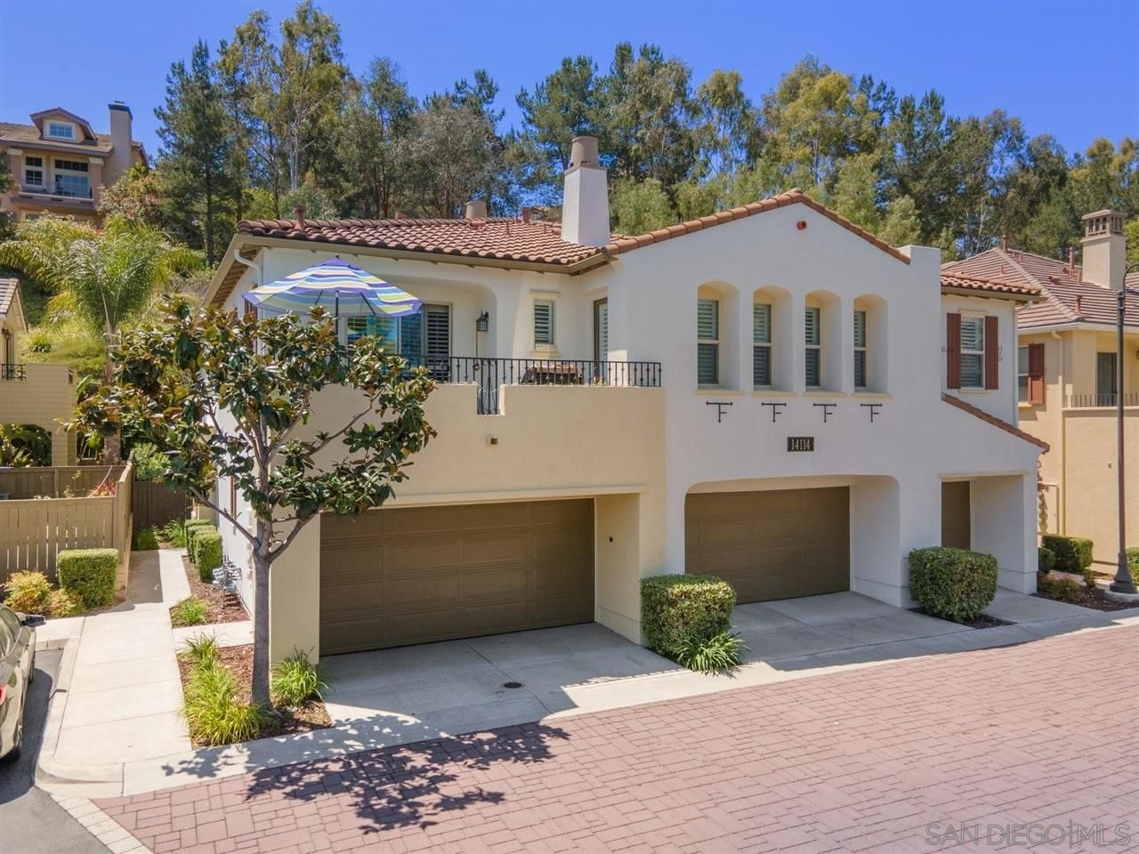 Main Photo: CARMEL MOUNTAIN RANCH Townhouse for sale : 3 bedrooms : 14114 Brent Wilsey Pl #3 in San Diego