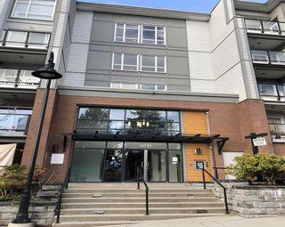 "Photo 1: 331 13733 107A Avenue in Surrey: Whalley Condo for sale in ""Quattro"" (North Surrey)  : MLS®# R2565794"