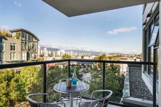 "Photo 1: 504 1428 W 6TH Avenue in Vancouver: Fairview VW Condo for sale in ""SIENA OF PORTICO"" (Vancouver West)  : MLS®# R2546266"