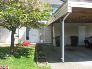 """Photo 1: 292 32550 MACLURE Road in Abbotsford: Abbotsford West Townhouse for sale in """"CLEARBROOK VILLAGE"""" : MLS®# F1113377"""