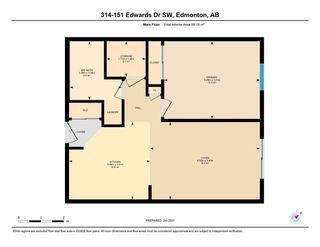 Photo 28: 314 151 EDWARDS Drive in Edmonton: Zone 53 Condo for sale : MLS®# E4225617