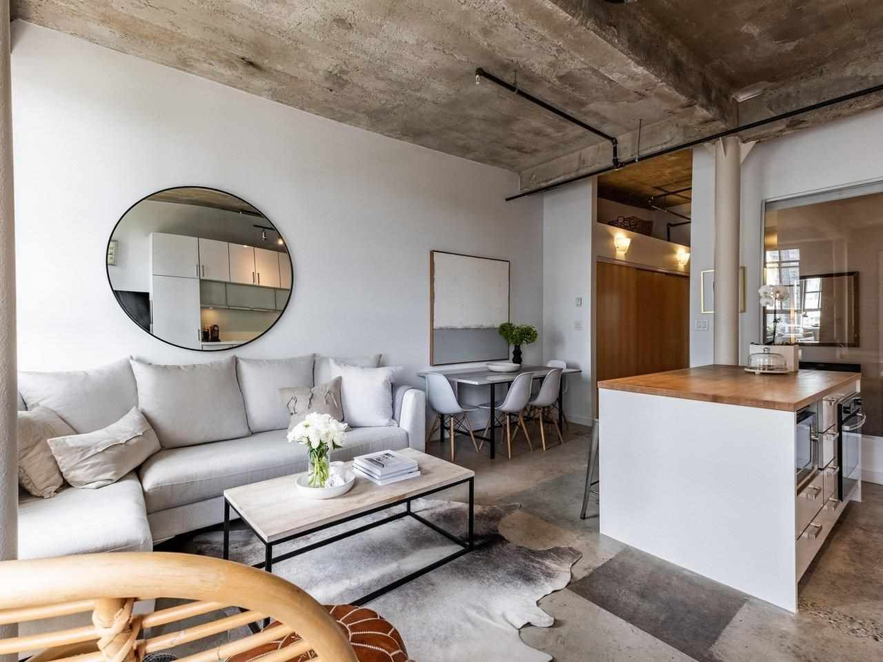 Beautifully preserved exposed bricks throughout the unit, featuring 10' high ceilings, dbl over-height sash wood windows, exposed concrete beams & concrete floors.