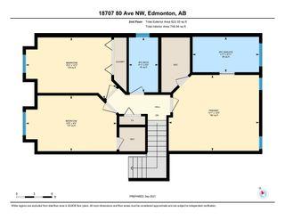 Photo 25: 18707 80 Avenue in Edmonton: Zone 20 House for sale : MLS®# E4262383