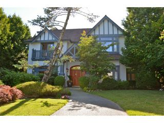 Main Photo: 6761 Beechwood St in Vancouver: S.W. Marine House for sale (Vancouver West)  : MLS®# V1072701