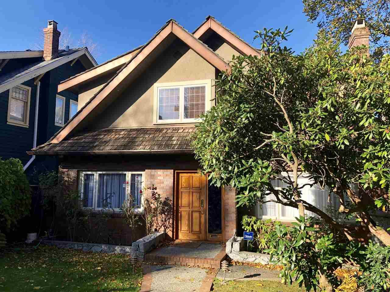 Photo 1: Photos: 1903 W 37TH Avenue in Vancouver: Quilchena House for sale (Vancouver West)  : MLS®# R2446667