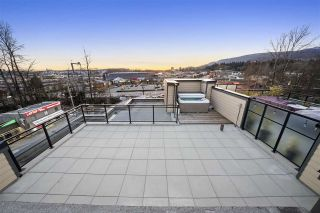 """Photo 10: 417 733 W 14TH Street in North Vancouver: Mosquito Creek Condo for sale in """"Remix"""" : MLS®# R2554656"""