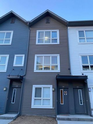 Photo 1: 128 2560 PEGASUS Boulevard in Edmonton: Zone 27 Townhouse for sale : MLS®# E4236175
