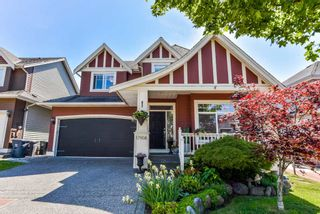 """Photo 1: 17908 71A Avenue in Surrey: Cloverdale BC House for sale in """"Provincton"""" (Cloverdale)  : MLS®# R2374811"""