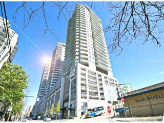 """Photo 1: 1205 888 CARNARVON Street in New Westminster: Downtown NW Condo for sale in """"MARINA AT PLAZA 88"""" : MLS®# V1064636"""