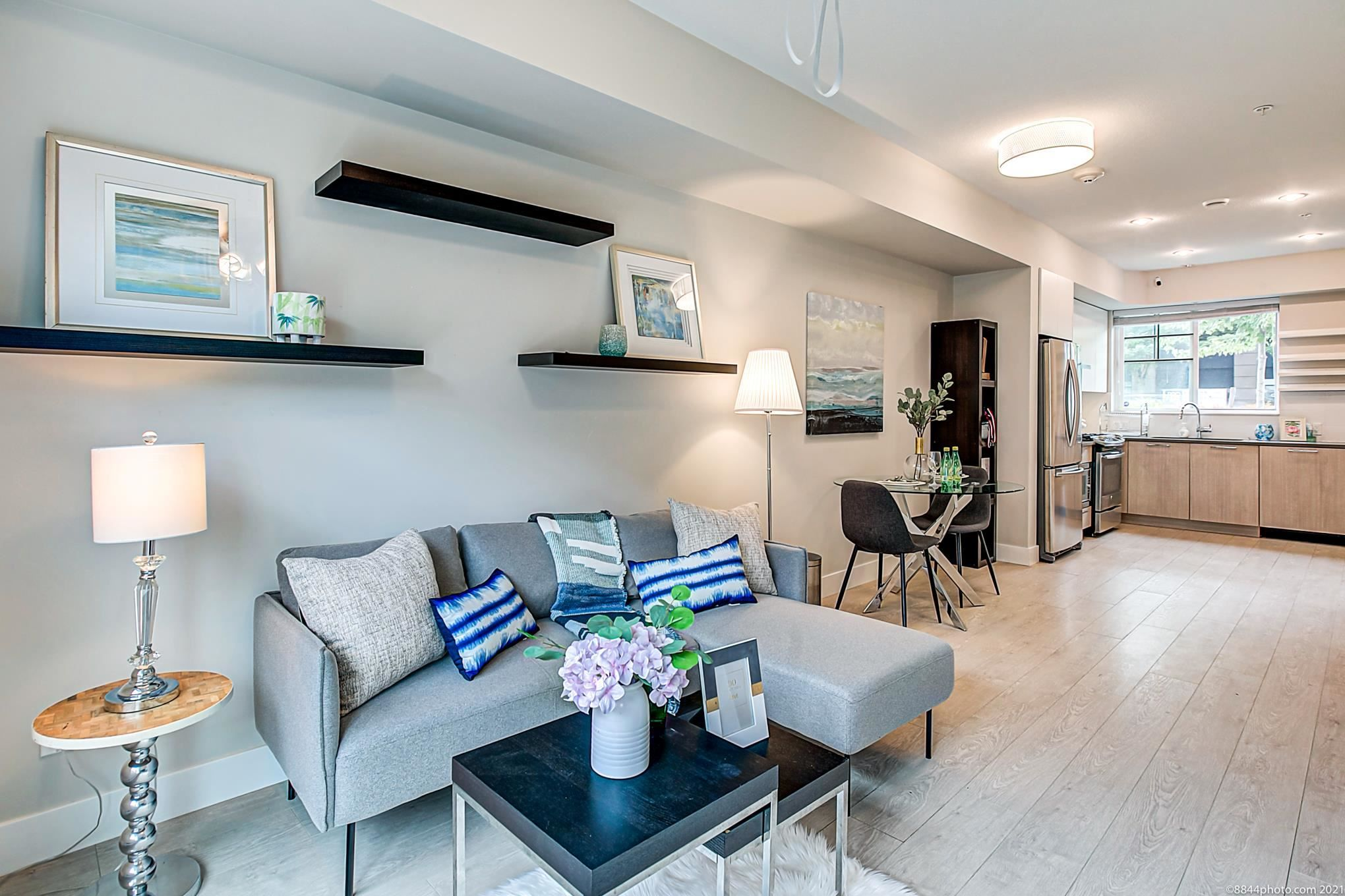 """Main Photo: 7 5132 CANADA Way in Burnaby: Burnaby Lake Townhouse for sale in """"SAVLIE ROW"""" (Burnaby South)  : MLS®# R2596994"""