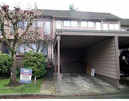 """Main Photo: 4234 BIRCHWOOD CR in Burnaby: Greentree Village Townhouse for sale in """"GREENTREE VILLAGE"""" (Burnaby South)  : MLS®# V567921"""