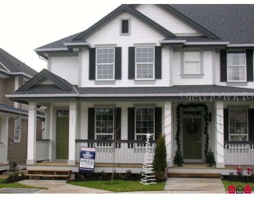 """Main Photo: 7021 180TH Street in Surrey: Cloverdale BC Townhouse for sale in """"PROVINCETON"""" (Cloverdale)  : MLS®# F2730643"""
