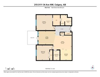 Photo 6: 215 3111 34 Avenue NW in Calgary: Varsity Apartment for sale : MLS®# A1041568