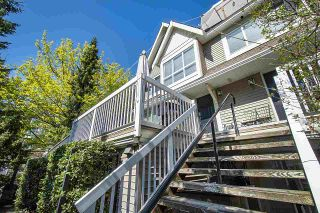 "Photo 1: 4 1071 LYNN VALLEY Road in North Vancouver: Lynn Valley Townhouse for sale in ""River Rock"" : MLS®# R2571893"